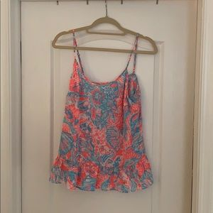 Lilly Pulitzer Floral Tank